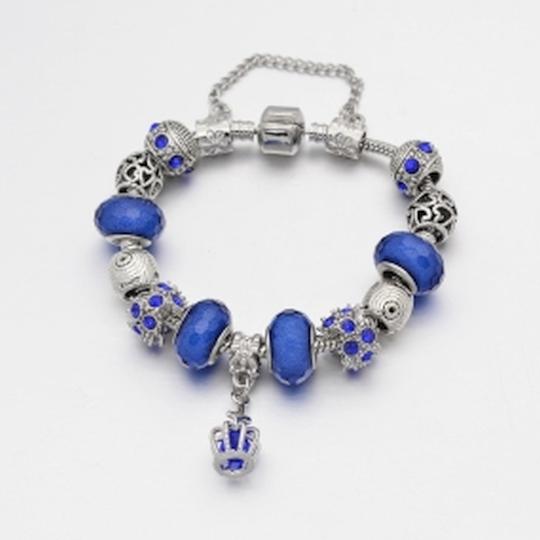 Luxusní náramek modrý 19cm